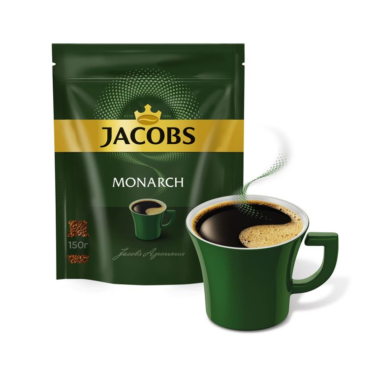 Кофе JACOBS MONARCH 150гр