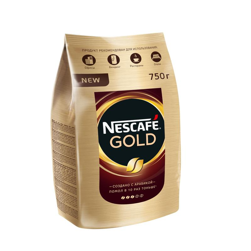 Кофе NESCAFE GOLD 750гр