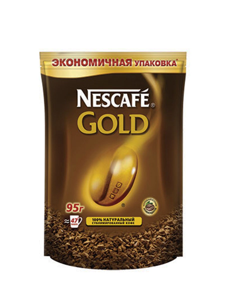 Кофе NESCAFE GOLD 95гр