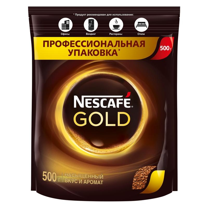 Кофе NESCAFE GOLD 500гр