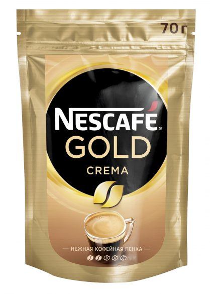Кофе NESCAFE GOLD CREMA 70гр