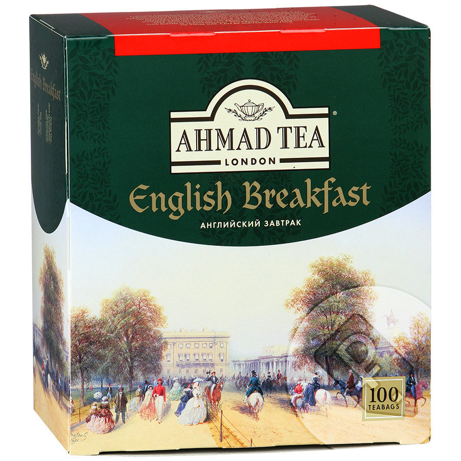 Чай Ahmad Tea English Breakfast черный 100 пак